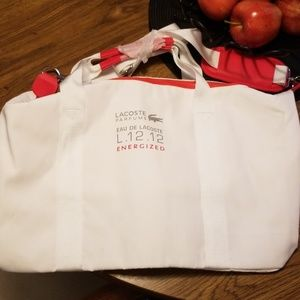 Large Lacoste duffel bag